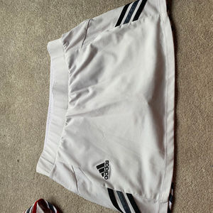 White Medium Adidas Tennis/Golf Skirt